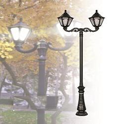 پایه چراغ پارکی طرح ملیکا 2