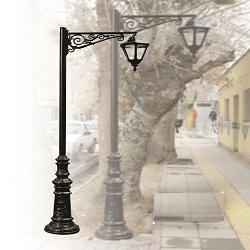 پایه چراغ پارکی طرح روژان
